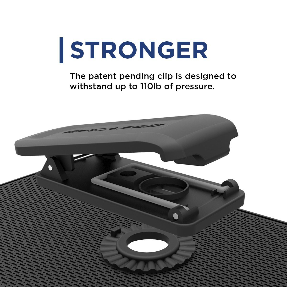 Encased Belt Case iPhone 6/6S, [SlimShield Series] Protective Grip Case with Holster Clip for Apple iPhone 6 (Smooth Black) by Encased (Image #7)