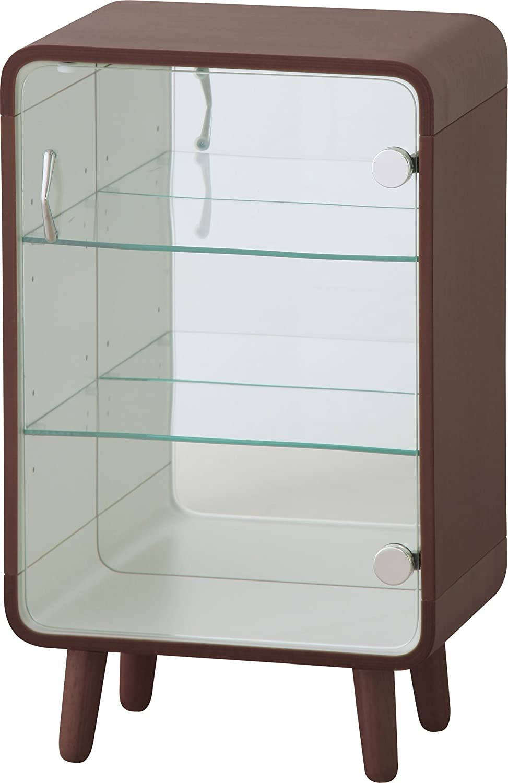 AZUMAYA コレクションシェルフ Sサイズ ブラウン色 PT-611BR B00NH9MJNM Sサイズ(高さ60cm)|ブラウン ブラウン Sサイズ(高さ60cm)