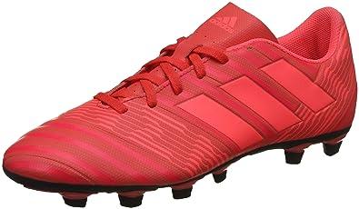separation shoes 2d362 1057a Adidas Men s Nemeziz 17.4 FxG Pink Football Boots-9 UK India (43 1