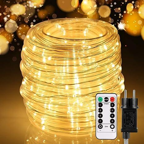 LED Lichtschlauch Lichterschlauch Lichterkette Innen//Aussen Lichterkette IP65