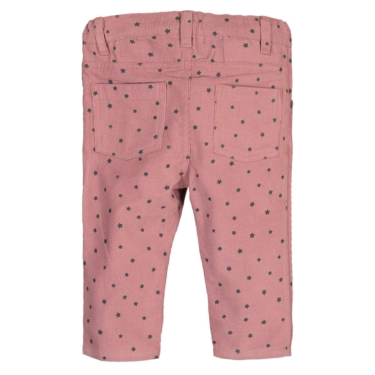 1 Month-3 Years La Redoute Collections Big Girls Straight Cut Printed Velour Trousers