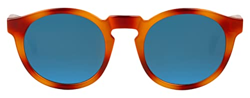 MR.BOHO, Tortoise jordaan with dark blue lenses - Gafas De Sol unisex multicolor (carey), talla única
