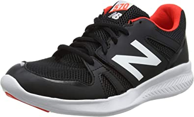 New Balance 570, Zapatillas de Running Unisex Niños, Negro (Black/Orange Bo Black), 29 EU: Amazon.es: Zapatos y complementos