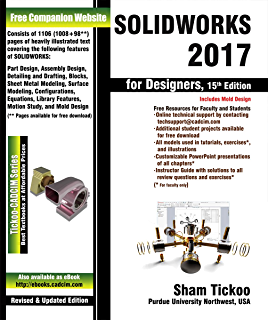 Introduction to solid modeling using solidworks 2017 william howard solidworks 2017 for designers 15th edition fandeluxe Gallery
