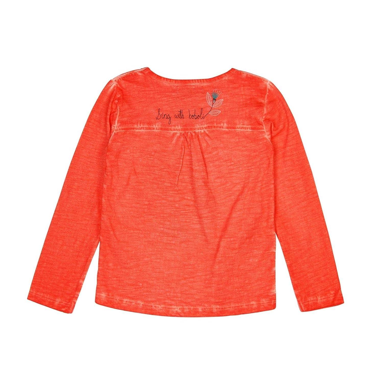 boboli Knit t-Shirt Flame for Girl Rosa