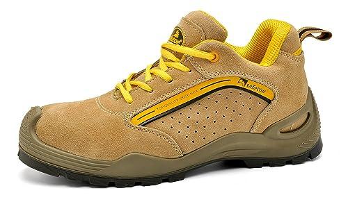 Zapatos de Seguridad Deportivos y Ligeros - Safetoe 7296 Botas de Seguridad Trabajo con Puntera de