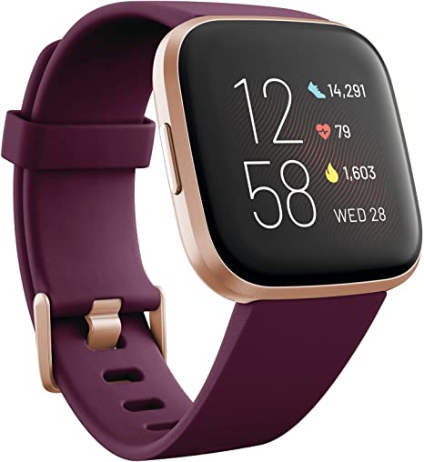 Fitbit Versa 2 - Health & Fitness Smartwatch with Heart Rate