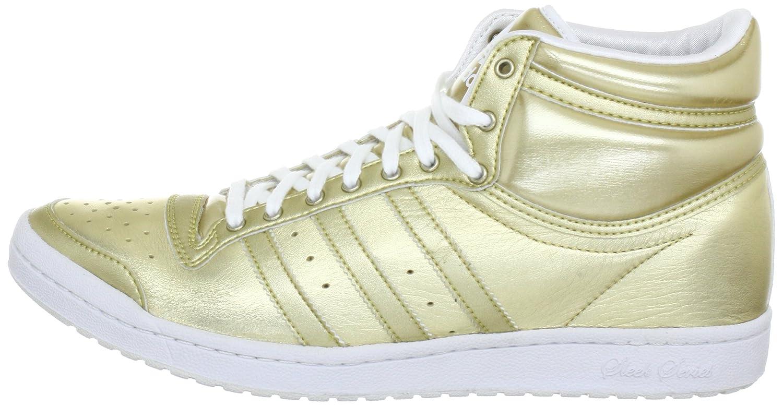 adidas top ten hi sleek heel +4cm (gold weiss)