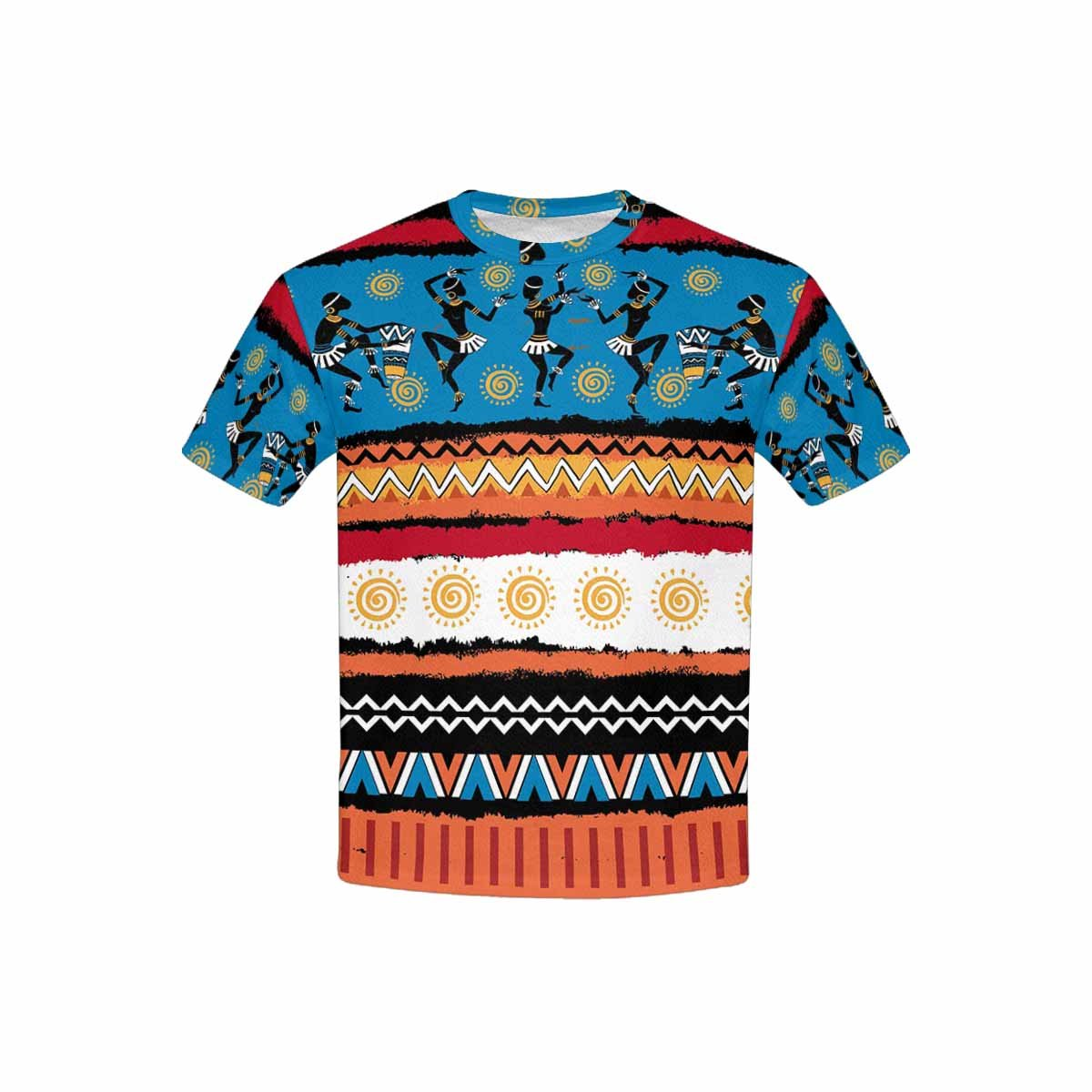 INTERESTPRINT Childs T-Shirt Ethnic Ornament Set XS-XL