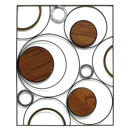 Amazon.com: Fetco Home Decor Wall Art Piece, Emporia Orbits: Home ...