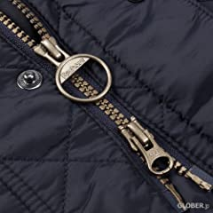Canterbury Quilted Jacket MQU0798: Navy