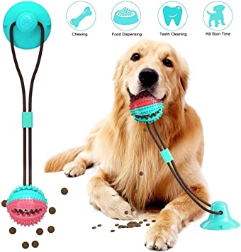 Dogs Teeth Chewing Cleaning Dog Bite Tug Toy Training Playing Toys