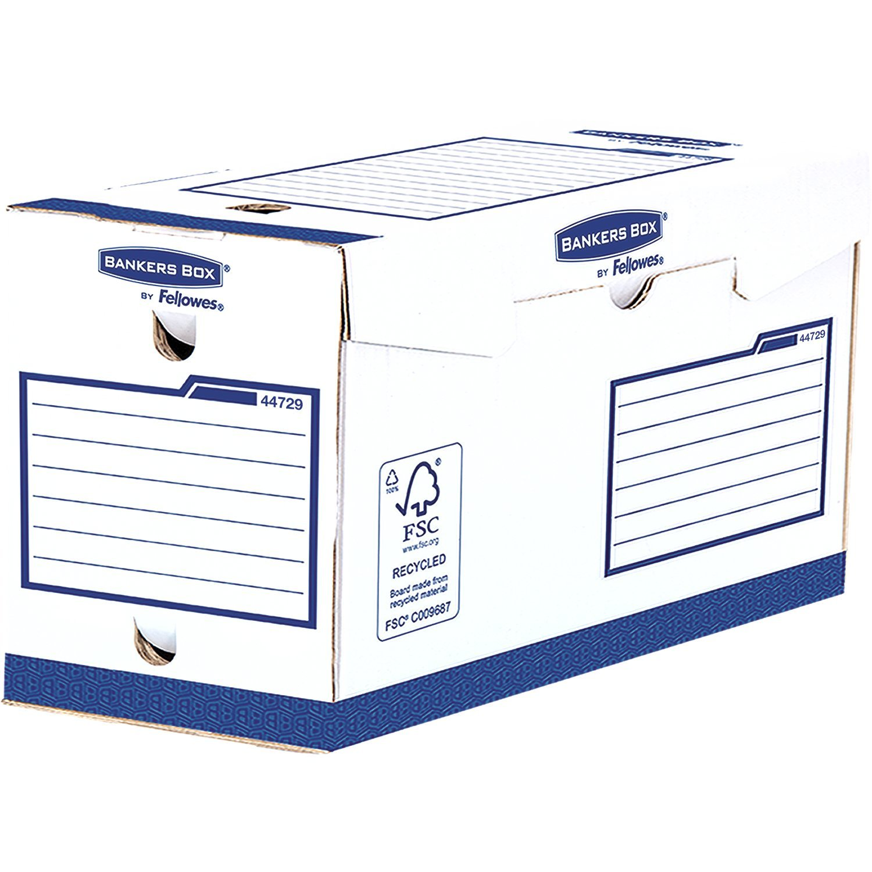 Bankers Box 4472902 Basic Scatola Archivio Extra Robusta A4+, Dorso 200 mm, FSC, Confezione da 20 Fellowes