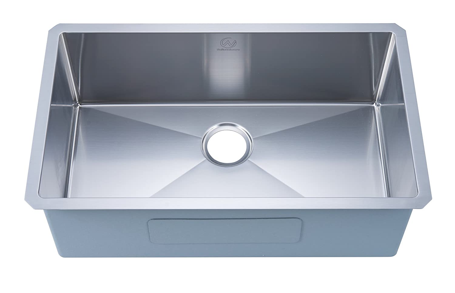 Stufurhome NW-3018S Undermount 18 Gauge 30 Inches Single Bowl Kitchen Sink Stainless Steel - - Amazon.com  sc 1 st  Amazon.com & Stufurhome NW-3018S Undermount 18 Gauge 30 Inches Single Bowl ...