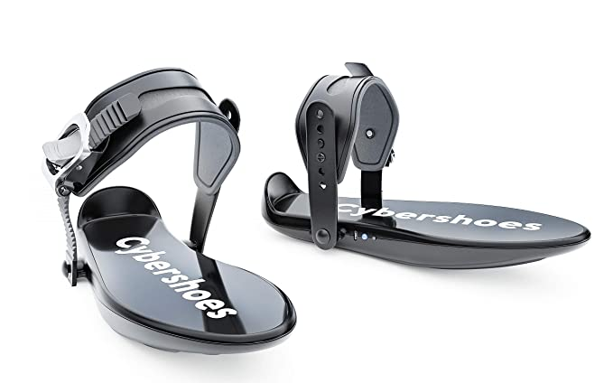 Cybershoes for Walking in VR Games – Gaming Station Incluye Cyberchair and Cybercarpet – Virtual Reality Arcade for Active Gaming at Your Home