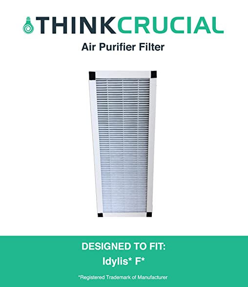 replacement for idylis f hepa style air purifier filter fits ac38 compatible with