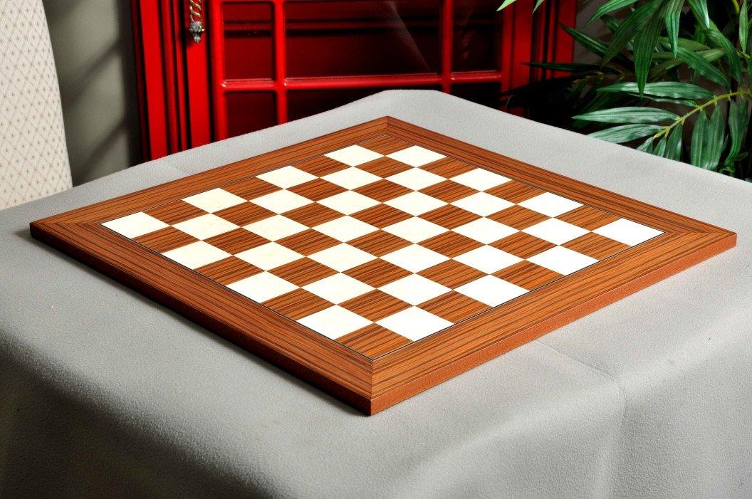 The House of Staunton Sapele & Maple スタンダード トラディショナル チェスボード - 2.25インチ B077PFG99S