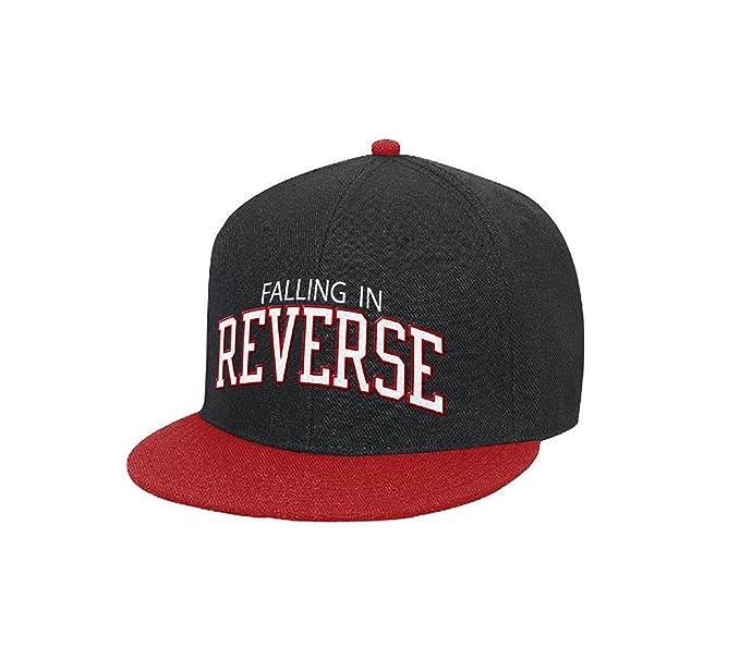 Falling In Reverse Logo oficial nuevo Negro Gorra de béisbol  Amazon.es   Ropa y accesorios 7caa6f2026d