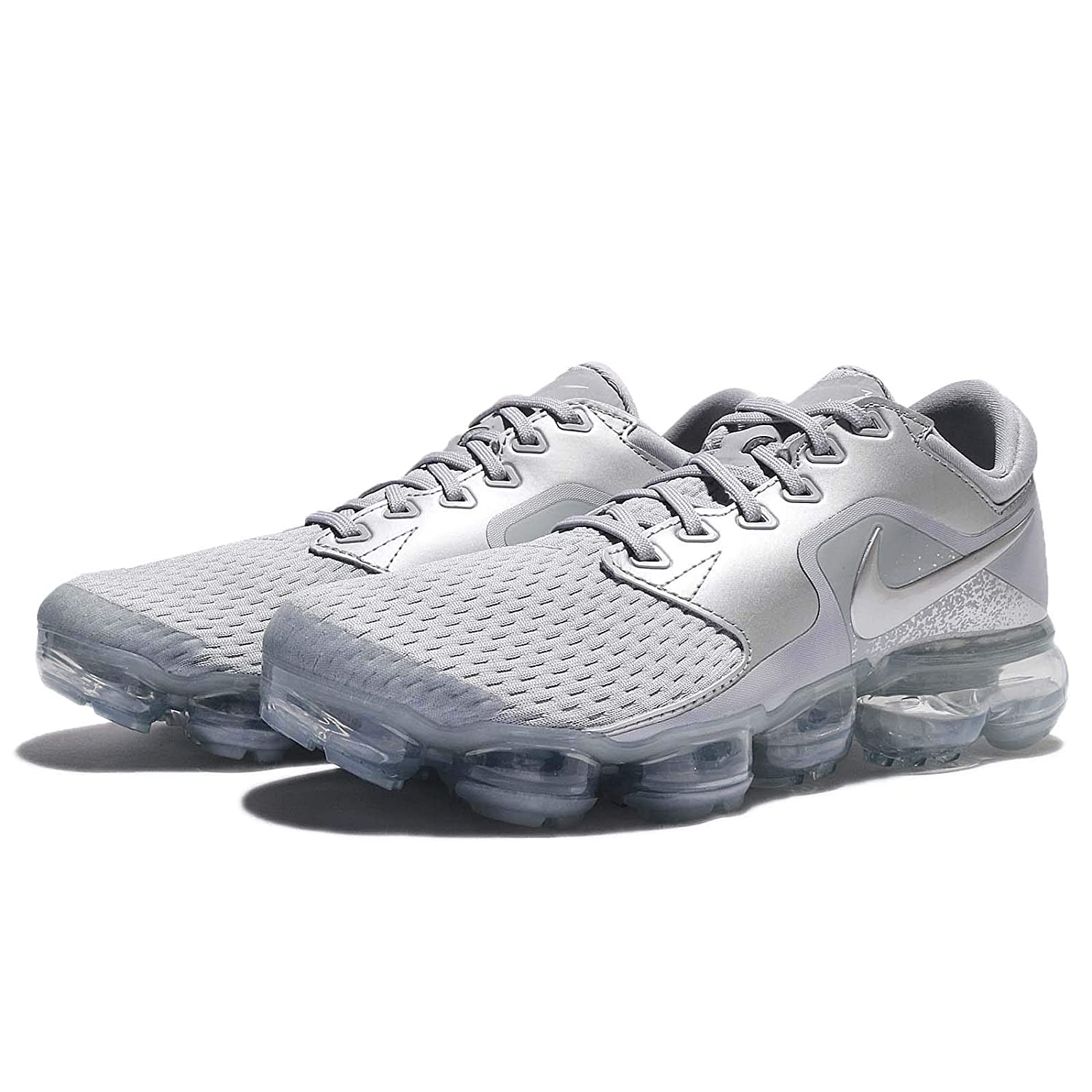 Nike Womens WMNS Air Vapormax 11 M US Wolf Grey//Metallic Silver