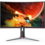 "AOC C32G2 32"" Curved Frameless Gaming Monitor FHD, 1500R Curved VA, 1ms, 165Hz, FreeSync, Height adjustable, 3-Year Zero…"