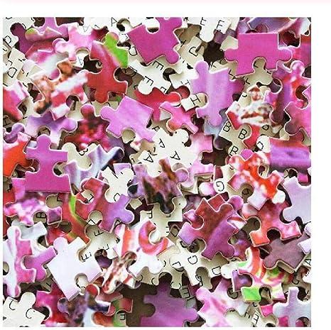 per adulti XeinGanpre Puzzle in legno a forma di puzzle colorato fantastico aiuto educativo per bambini bambini e neonati