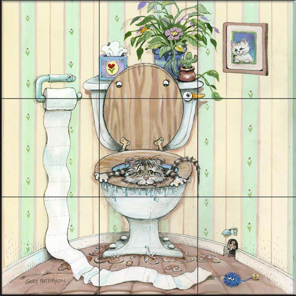 Fliesenwandbild - Oops - von Gary Patterson - Küche Aufkantung/Bad ...