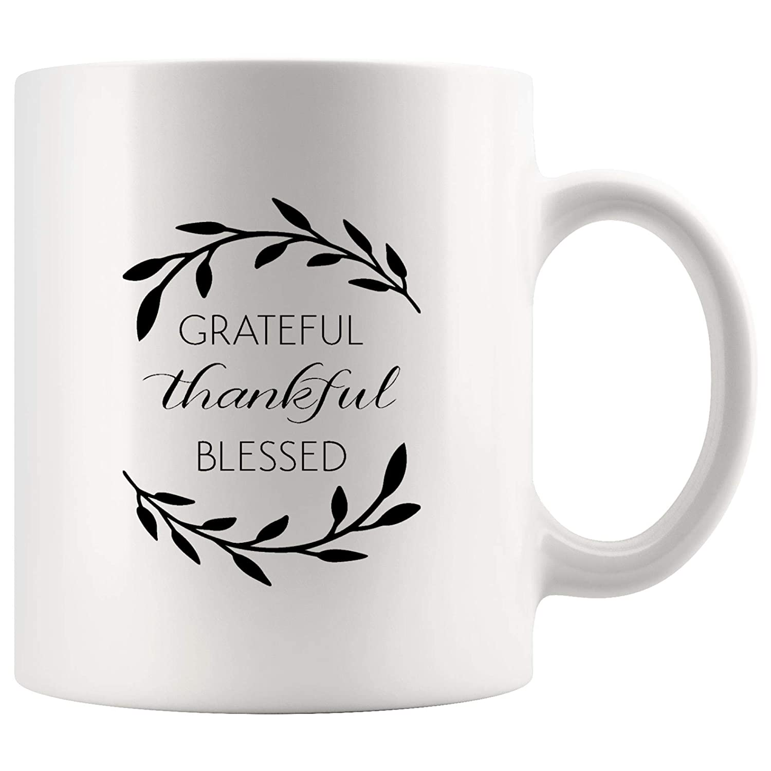 Amazoncom Grateful Thankful Blessed Inspirational Coffee