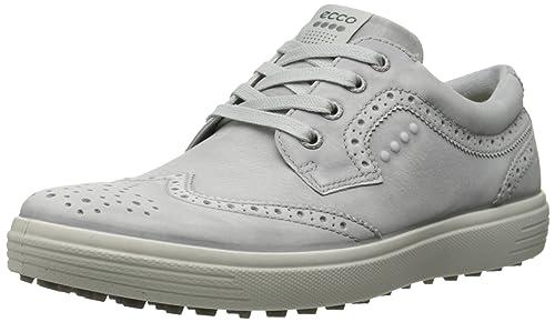 95cf971d7a2330 ECCO ECCO MEN'S GOLF CASUAL HYBRID, Men's Golf Shoes, Ivory (CONCRETE01379),