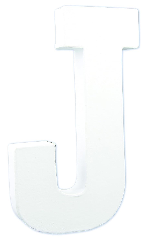 Decopatch –  Lettera J –  bianco AC709C