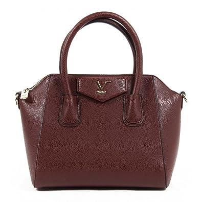 c8373444ce75 Versace 19.69 Abbigliamento Sportivo Srl Milano Italia Womens Handbag VE01  CLARET RED