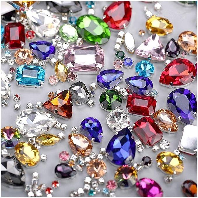 para la Decoraci/ón de Cumplea/ños de Bodas 2 Vol/úmenes Cinta Diamantes Imitaci/ón Acr/ílico Cintas Diamantes Plata, Oro Claro Decoraci/ón de Cintas de Diamantes de Imitaci/ón