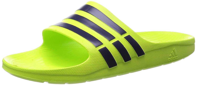 adidas Adilette Duramo Slide Badeschuhe Badelatschen Hausschuhe B23231 Yellow