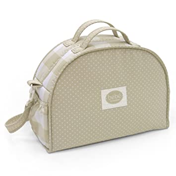 Amazon.com : Cambrass Changing Bag Luna (19 x 45 x 33 cm, Bebe Beige) : Baby