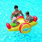 "Pool Float - Kids Inflatable Seesaw Swimming Pool Water Toy (57""x40.5""x26"")"