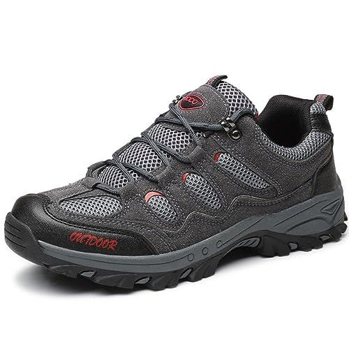 Zapatillas de Senderismo Hombres Zapatos Deporte Casual Zapatillas Trekking Outdoor Suela Antideslizante 39-43: Amazon.es: Zapatos y complementos