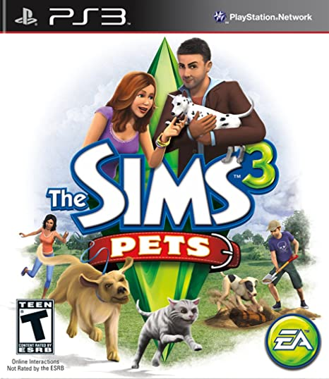 The Sims 3 Pets Playstation 3 Video Games