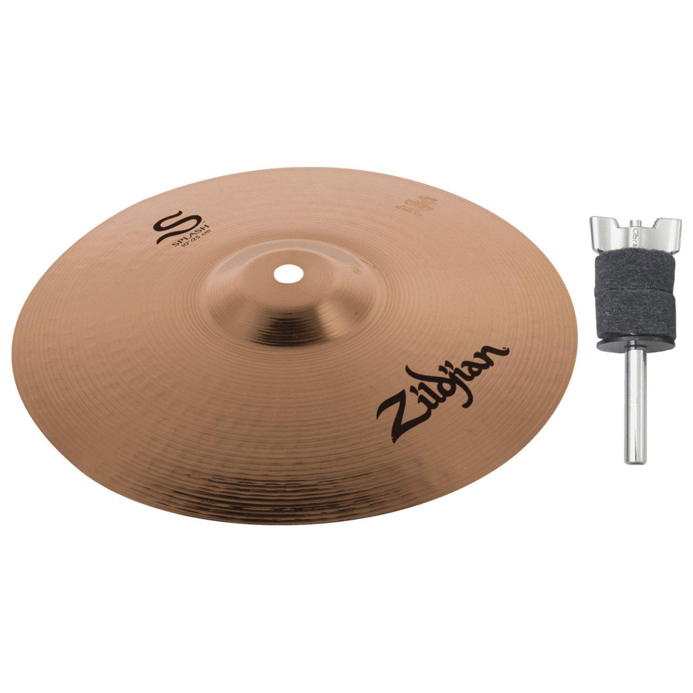Zildjian S10S 10'' S Splash w/ Cymbal Stacker by Avedis Zildjian Company