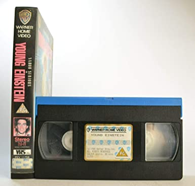 Young Einstein [Reino Unido] [VHS]: Amazon.es: Cine y Series TV
