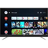VU 108 cm  43 Inches  4K Ultra HD Smart LED TV 43 OA  Silver   2019 Model