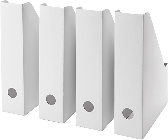 Lizzy/® Ikea Fluns set da 12 pezzi Raccoglitori portariviste