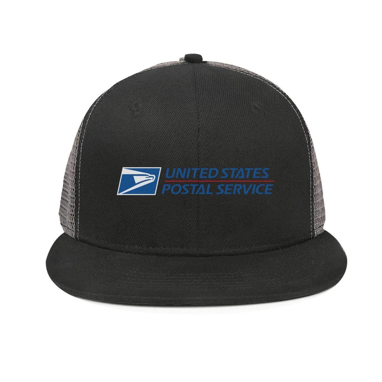 SDHAK United-Parcel-Service-UPS-Symbol-Logo Flat Bill Trucker Hats for Men Women Baseball Caps Vintage Snapbacks