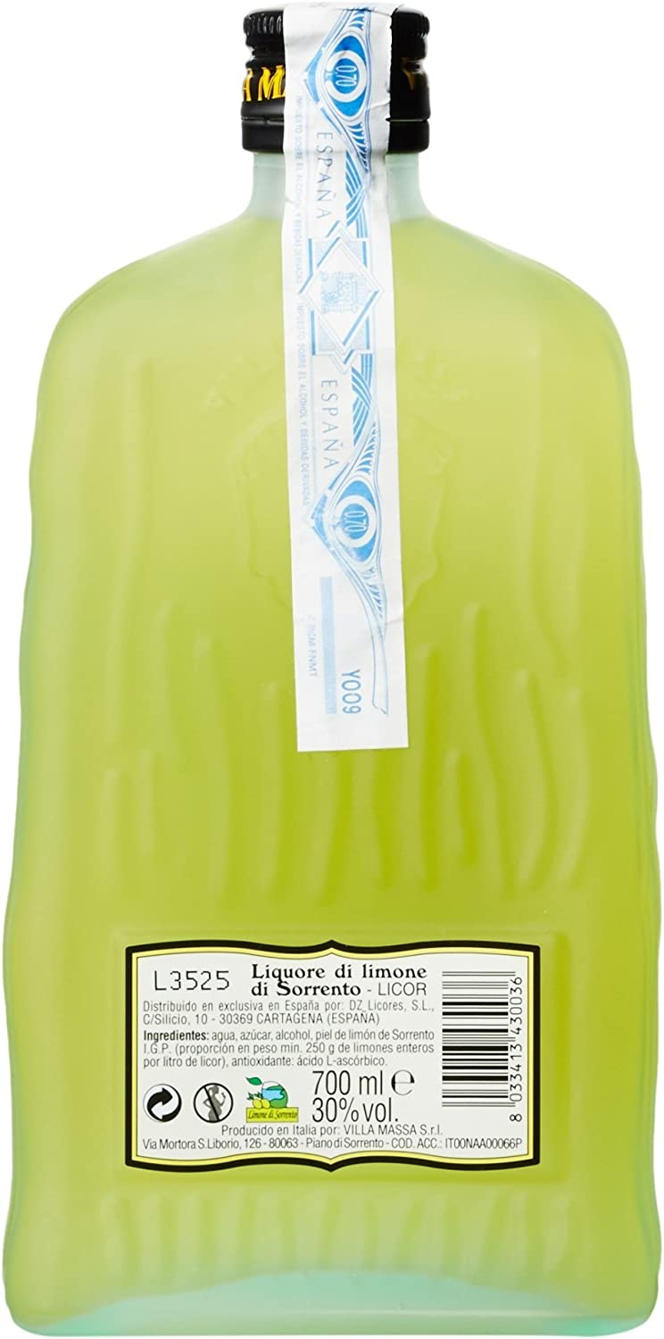 Villa Massa Limoncello - 700 ml: Amazon.es: Alimentación y bebidas