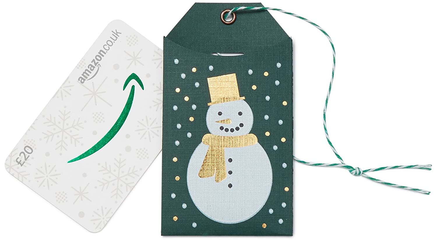 Amazon.co.uk Gift Card - Gift Tag - FREE One-Day Delivery Amazon EU S.à.r.l. Fixed