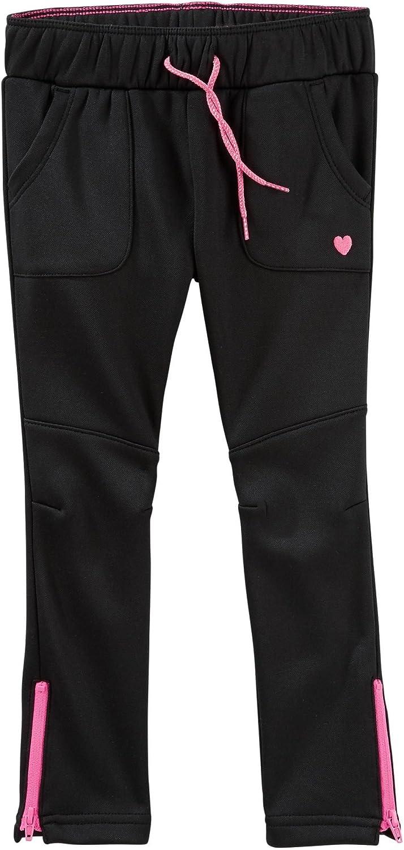 OshKosh BGosh Baby Girls Tricot Track Pant 6 Months Black