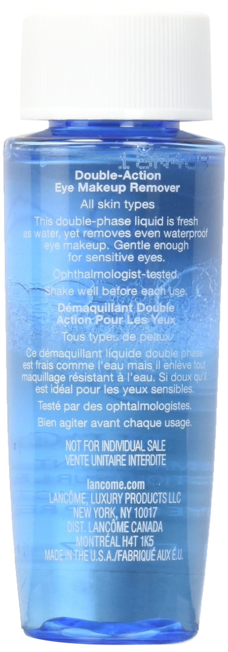 Bi-Facil Double Action Eye Makeup Remover 1.7 FL. OZ. Each (Lot of 4) by lancome (Image #2)