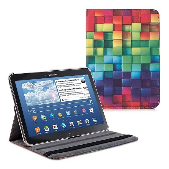kwmobile Samsung Galaxy Tab 4 10.1 T530 / T535 Hülle - 360° Tablet Schutzhülle Cover Case für Samsung Galaxy Tab 4 10.1 T530