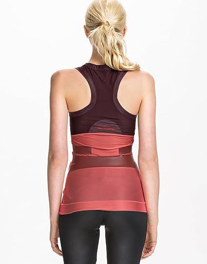 adidas by Stella McCartney Run Tech para mujer - color rosa/marrón, Pink/Maroon, extra-small: Amazon.es: Deportes y aire libre