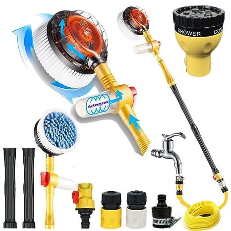 Amazon.com: Lavado de coche herramientas de Hogar cepillo ...