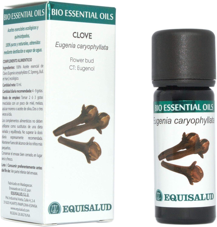 Bio Essential Oil Clavo 10 ml.: Amazon.es: Salud y cuidado personal