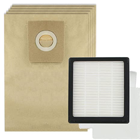 Spares2go filtro HEPA Pad de Juego + 5 bolsas para ...